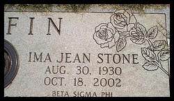 Ima Jean <i>Stone</i> Chafin