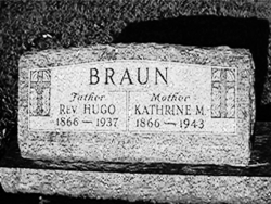 Katherine M <i>Neve</i> Braun