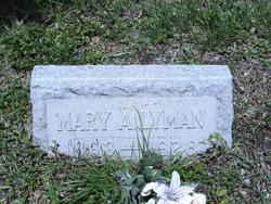 Mary A Lyman