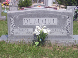 Mary E <i>Wilson</i> DeBeque