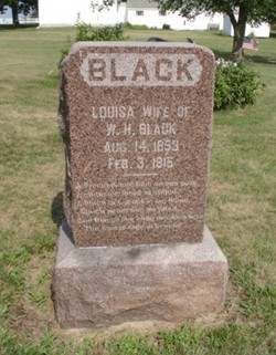 Louisa <i>Rhodes</i> Black