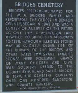 Bridges Cemetery