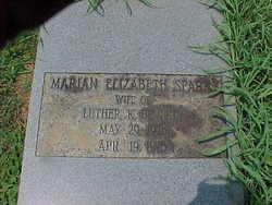 Marian Elizabeth <i>Sparks</i> Beverly