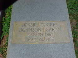 Jessie Tucker <i>Johnson</i> Capon