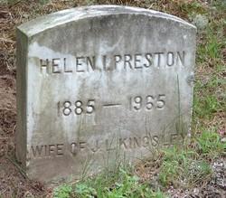Helen I. <i>Preston</i> Kingsley