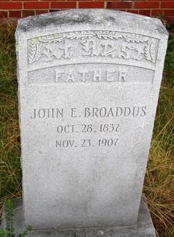 Lieut John Edward Broaddus