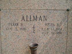 Helen Adela Ella <i>Schulz</i> Allman