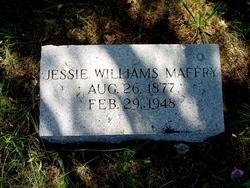 Jessie F <i>Williams</i> Maffry