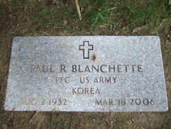 Paul R. Blanchette, Sr