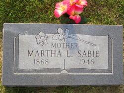 Martha Louise <i>Ross</i> Sabie