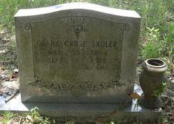 Clara <i>Cruse</i> Sadler