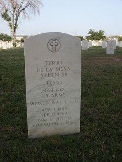 MG Terry De La Mesa Allen, Sr