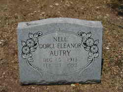 Dorci Eleanor Nell <i>Gerfers</i> Autry