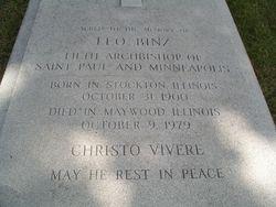 Rev Leo Binz