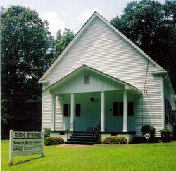 Rock Springs Primitive Baptist Church Cemetery