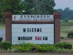 Evergreen Methodist Church Cemetery