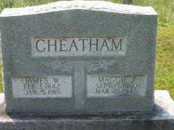 Maggie Jennie <i>Alexander</i> Cheatham