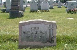 Mary A <i>Siekierski</i> Klijewski