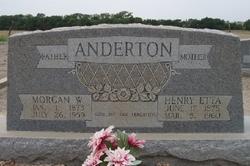 Morgan W. Anderton