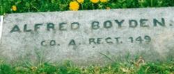 Pvt Alfred Boyden