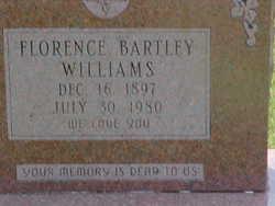 Florence <i>Bartley</i> Williams