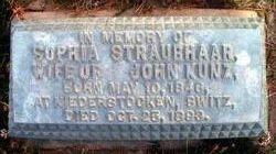 Sophia <i>Straubhaar</i> Kunz