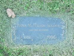 Monona May Nona <i>Wilson</i> Solders
