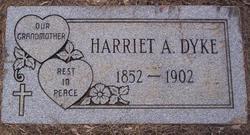 Harriet A Dyke