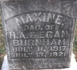 Maxine Burnham