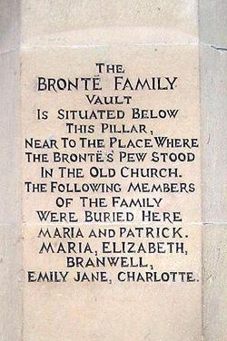 Maria <i>Branwell</i> Bronte
