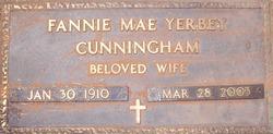 Fannie Mae <i>Yerbey</i> Cunningham