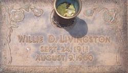 Willie D. <i>Yerbey</i> Livingston