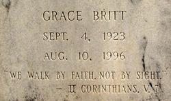 Edna Grace <i>Britt</i> Tuggle