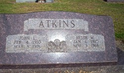 Bessie <i>Martin</i> Atkins