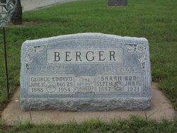 Sarah Anne <i>Hampton</i> Berger