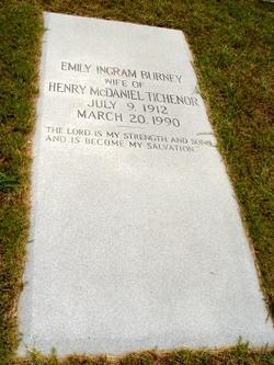 Emily Ingram <i>Burney</i> Tichenor