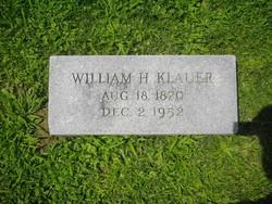 William H Klauer