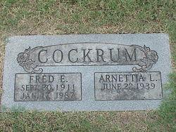 Fred Edward Cockrum