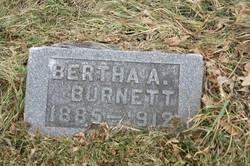Bertha A. <i>Adams</i> Burnett
