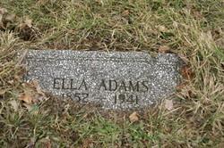 Ella <i>Lovett</i> Adams