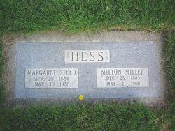 Margaret Jane <i>Steed</i> Hess