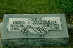 Irene <i>Balmforth</i> Andersen