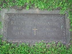 Rev Archibald Auld