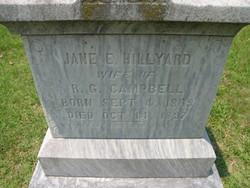 Jane E. <i>Hillyard</i> Campbell