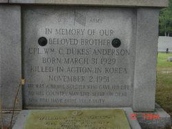 Corp William C. Anderson