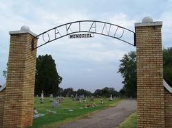 Oakland Memorial Cemetery