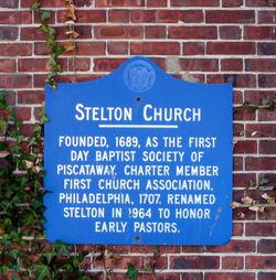 Stelton Baptist Church Cemetery