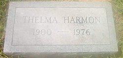 Thelma <i>Garrett</i> Harmon