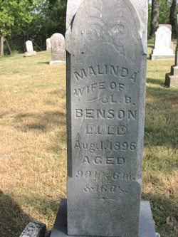 Malinda <i>Blanchard</i> Benson