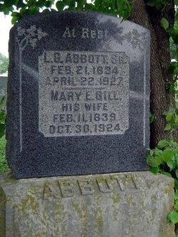 Mary Eleanor Ellen <i>Gill</i> Abbott